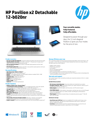 HP Pavilion x2 - 12-b020nr (ENERGY STAR)