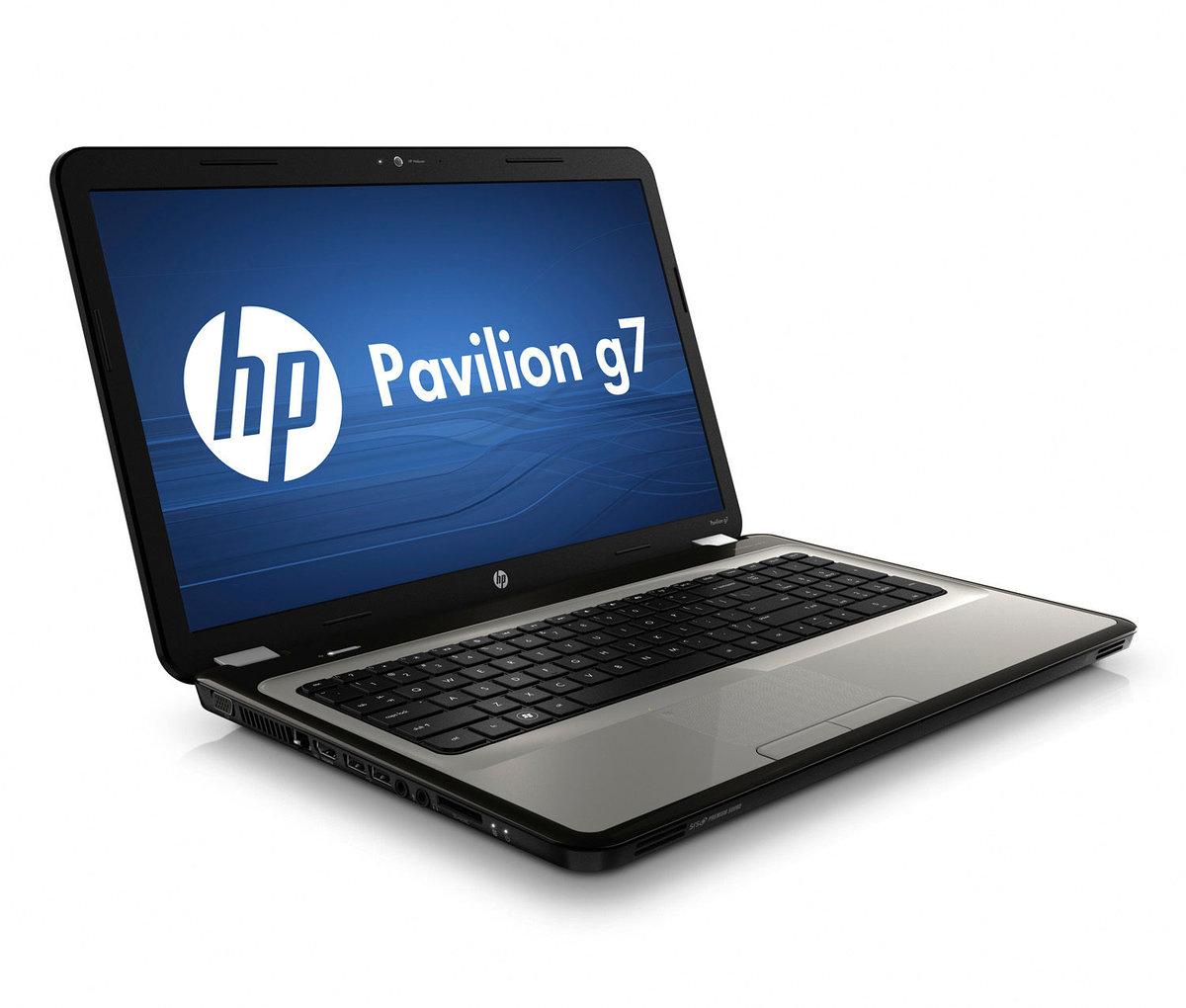 HP Pavilion g7-1070us - Core i3 380M / 2.53 GHz - RAM 4 GB - HDD 500 GB -  DVD±RW (±R DL) / DVD-RAM - HD Graphics - WLAN : Bluetooth, 802.11b/g/n ...