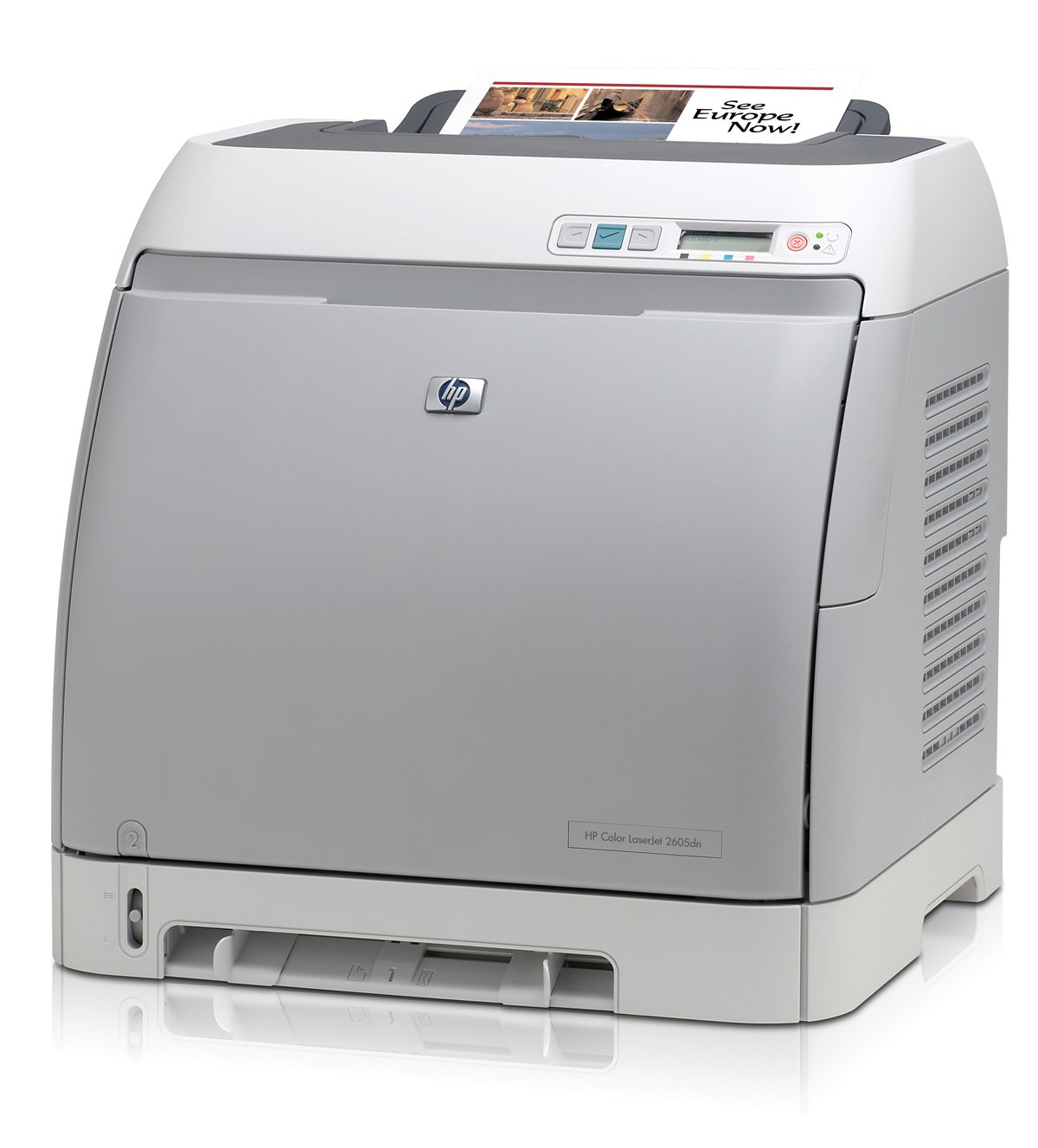 HP LaserJet 2605dn Color Laser Printer - Network, Duplex Printing, Up To  2400 dpi, Up To 12 ppm Black/10 ppm Color (Open Box) at TigerDirect.com