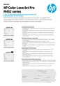 Datasheet for HP Color LaserJet Pro M452 Series (APJ English) (English)