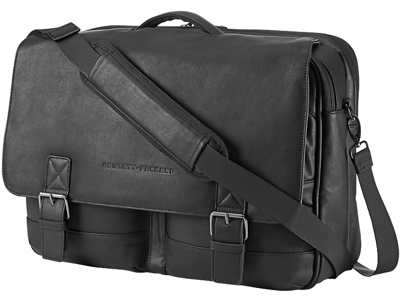 HP 15.6 Executive Leather Messenger
