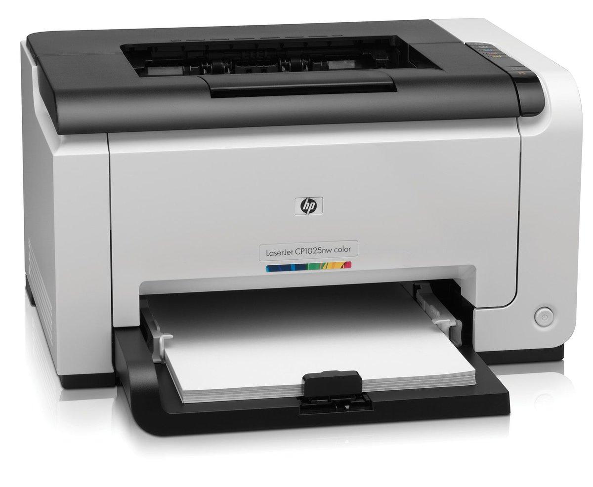 HP Impresora LaserJet Pro CP1025nw - Alca Computación