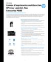 Gamme d'imprimantes multifonction HP Color LaserJet, flux Enterprise M880