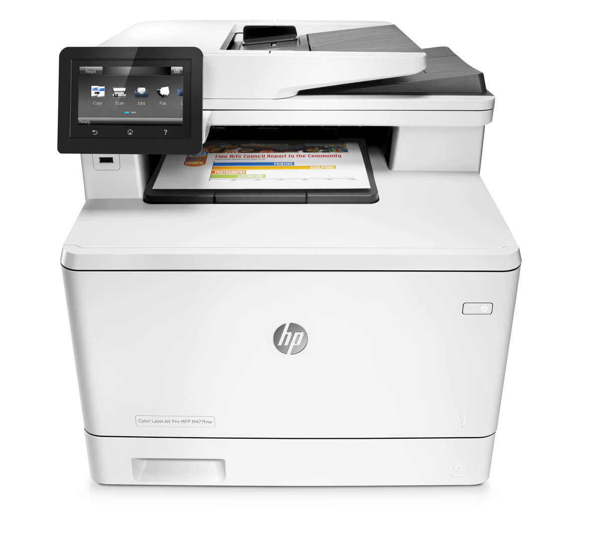 Color printing office depot - Hp Laserjet Pro M477fnw Wireless Color Laser Printer With Jetintelligence By Office Depot Officemax