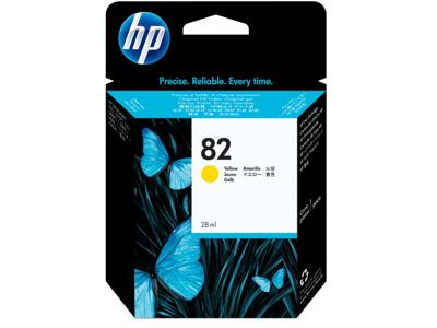 HP 82 28-ml Yellow DesignJet Ink Cartridge