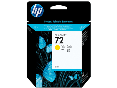 HP 72 69-ml Yellow DesignJet Ink Cartridge