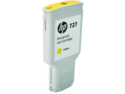 HP 727 300-ml Yellow DesignJet Ink Cartridge