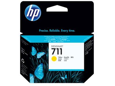 HP 711 29-ml Yellow DesignJet Ink Cartridge