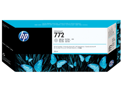 HP 772 300-ml Light Gray DesignJet Ink Cartridge