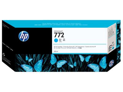 HP 772 300-ml Cyan DesignJet Ink Cartridge