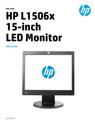 HP L1506x 15-inch LED Monitor