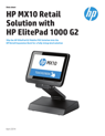 HP MX10 Retail Solution with ElitePad 1000 G2