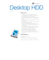Desktop HDD Data Sheet