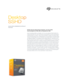 Datenblatt zum Desktop SSHD-Kit