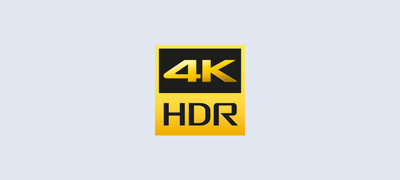 Discover new depths of realism with 4K High Dynamic Range
