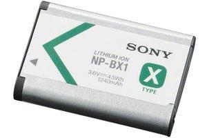 Bloc-pile rechargeable série X NP-BX1