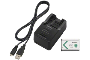 Battery charger, battery, and USB cable