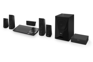Full HD Blu-Ray Disc<sup>™</sup> Home Theater System