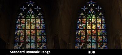 HDR compatibility: every image comes to life