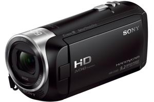 CX405 Handycam<sup>®</sup> with Exmor R<sup>™</sup> CMOS sensor