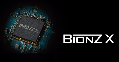 New-generation image processing engine, BIONZ X<sup>™</sup>, leads a new world