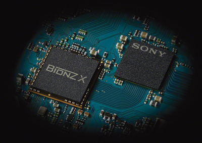 BIONZ<sup>®</sup> X Processor enables high Speed rec 120fps