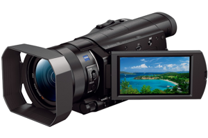 "4K Camcorder with 1"" sensor"