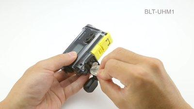 Compact POV action cam