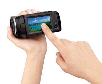 "2.7"" Clear Photo LCD<sup>™</sup> display (230K)"