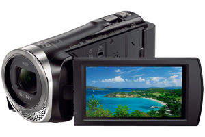 Full HD Handycam<sup>®</sup> Camcorder with Exmor R<sup>®</sup>CMOS sensor
