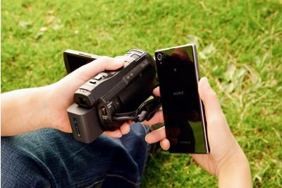 Wireless control, transfer, data backup via NFC/Wi-Fi<sup>®1</sup>