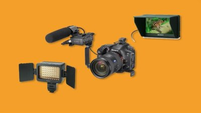 Battery LED Video Light