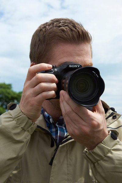 QVGA Tru-Finder<sup>™</sup> Eye-level viewfinder