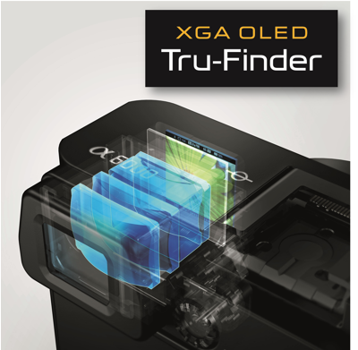 What you see is what you get with an OLED Viewfinder
