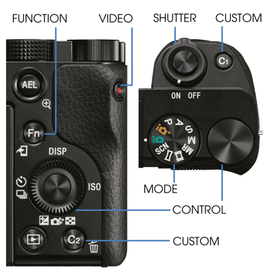 Easy and intuitive controls help you shoot like a pro