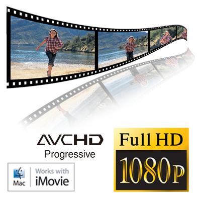 Full HD 1080/24/60P video