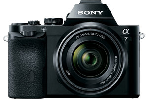 a7 Full Frame Mirrorless Camera w/ 28-70mm full frame lens