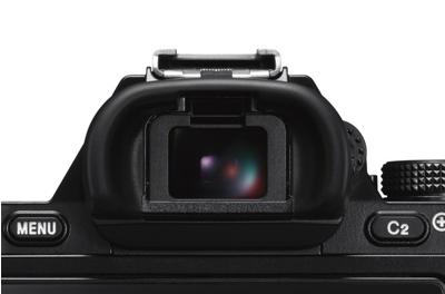 High contrast 2.4-million dot XGA OLED Tru-Finder<sup>™</sup> EVF