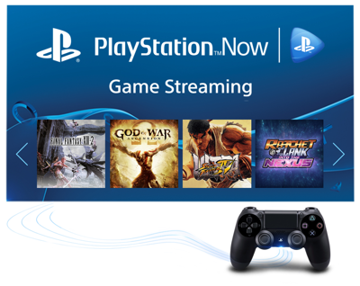 Stream PS3<sup>™</sup> games directly to your TV<sup>3</sup>