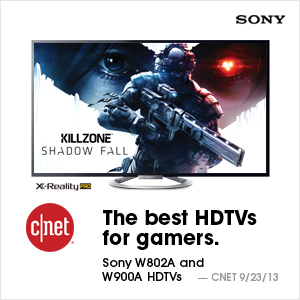 Sony is the best TV for gaming.