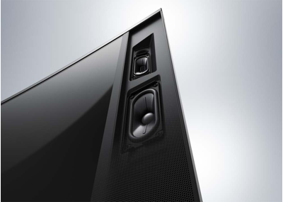 Precisely-angled surround sound