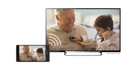 Your smartphone, now on TV