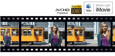 Full HD Movies1 at 60p/60i/24p