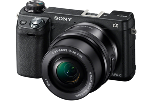 Alpha NEX-6 Camera with 16-50mm Lens