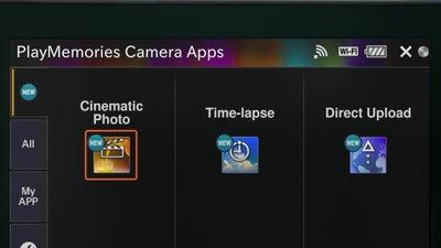 Play Memories Camera App