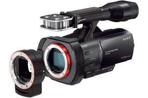 Full-Frame Interchangeable Lens Camcorder