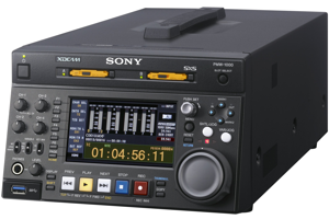 XDCAM HD422 Dual SxS Memory Recorder