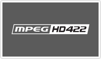 50Mbps HD422 Recording Format