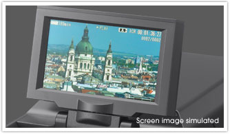 Large 3.5-Inch* Color LCD Display