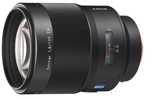 Sonnar T* 135mm F1.8 ZA Wide Aperture Telephoto Lens